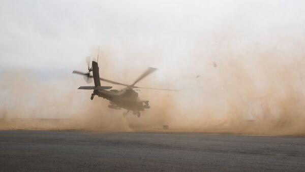 Helicóptero Apache (archivo) - Sputnik Mundo