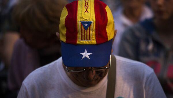 Partidario de la independencia de Cataluña - Sputnik Mundo