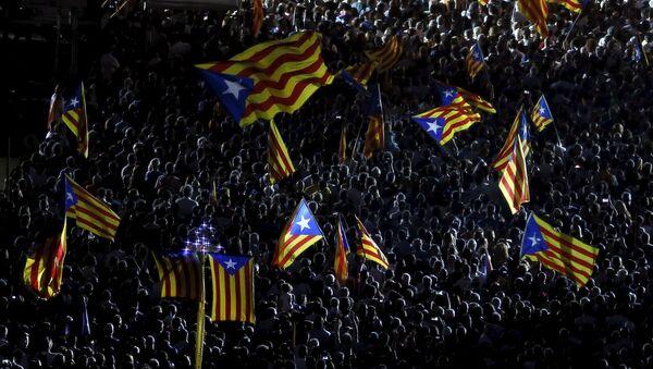 Banderas de Cataluña - Sputnik Mundo