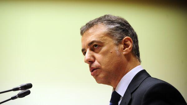 Iñigo Urkullu, presidente del País Vasco - Sputnik Mundo