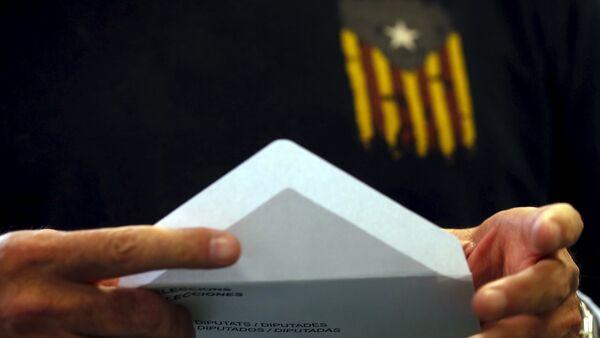Proceso electoral en Cataluña - Sputnik Mundo