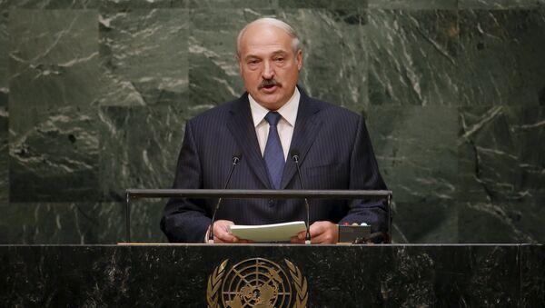 Aleksandr Lukashenko, presidente de Bielorrusia - Sputnik Mundo