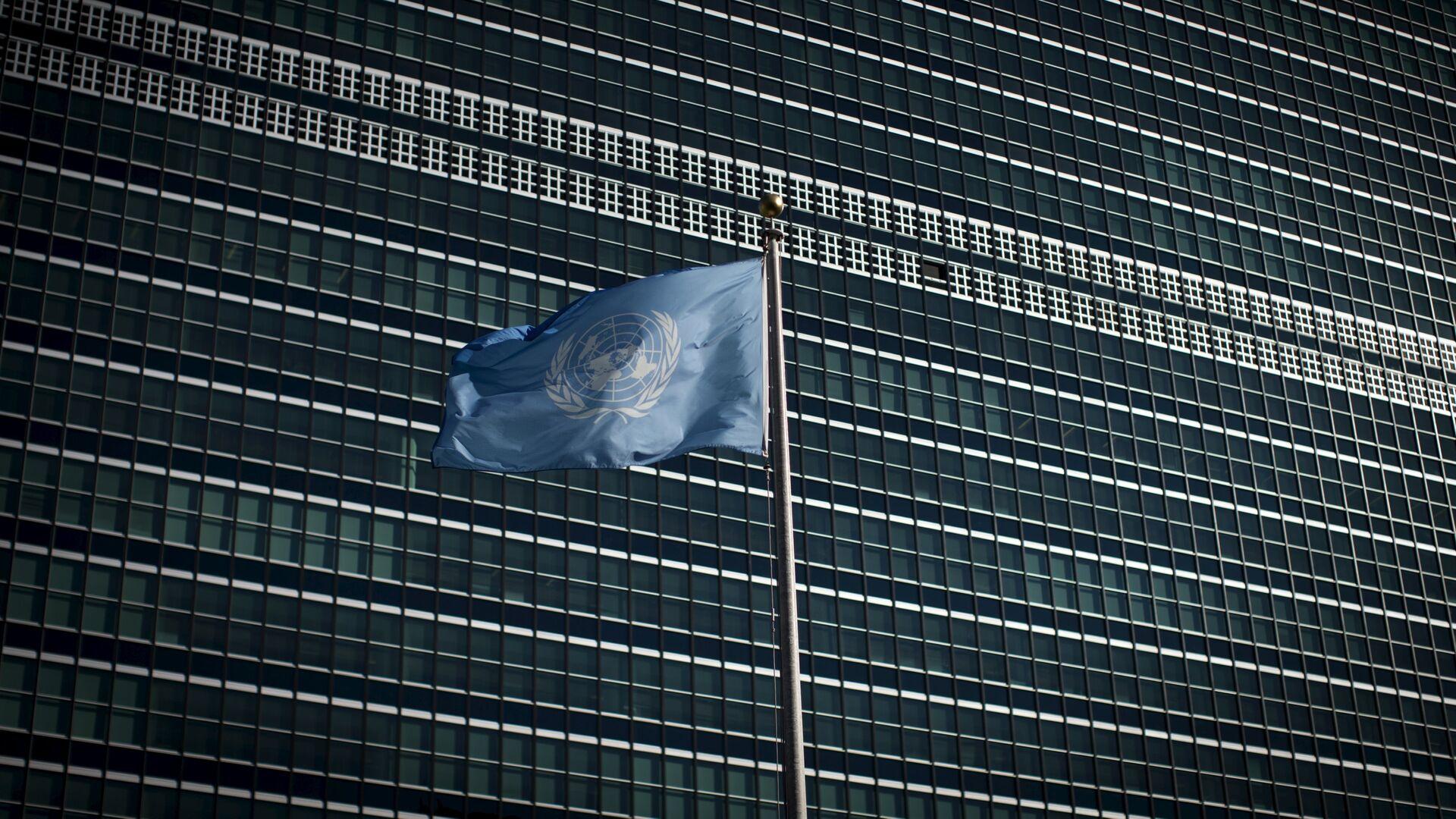 La bandera de la ONU - Sputnik Mundo, 1920, 23.03.2021