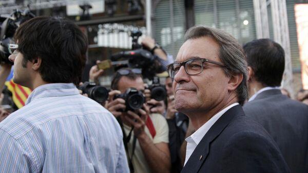 Artur Mas, presidente de Cataluña - Sputnik Mundo