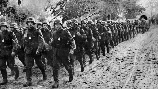 Militares nazis en Polonia, 1939 - Sputnik Mundo