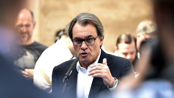 Artur Mas, expresidente de Cataluña (archivo) - Sputnik Mundo