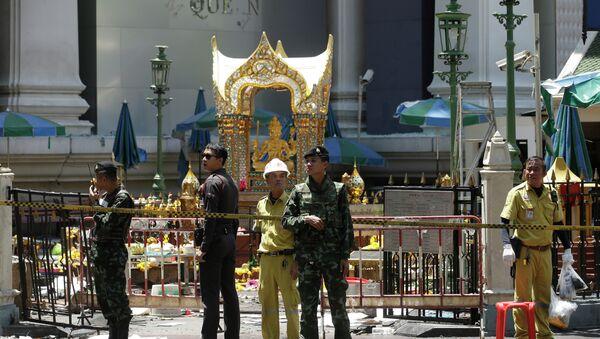 El lugar de atentado en Bangkok (Archivo) - Sputnik Mundo