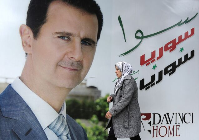 Bashar Asad, presiente de Siria