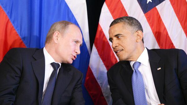 Vladímir Putin, presidente de Rusia, y Barack Obama, presidente de EEUU (archivo) - Sputnik Mundo