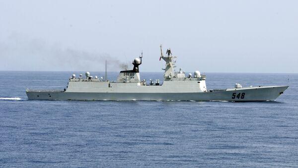 Crucero portamisiles chino Yiyang - Sputnik Mundo