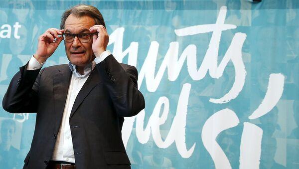 Artur Mas, presidente de Cataluña, el 28 de septiembre, 2015 - Sputnik Mundo