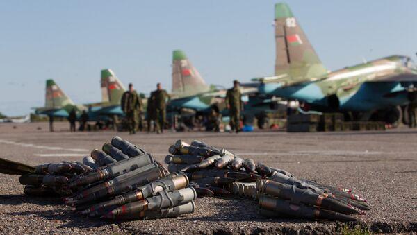 Su-25 de las Fuerzas Armadas de Bielorrusia - Sputnik Mundo