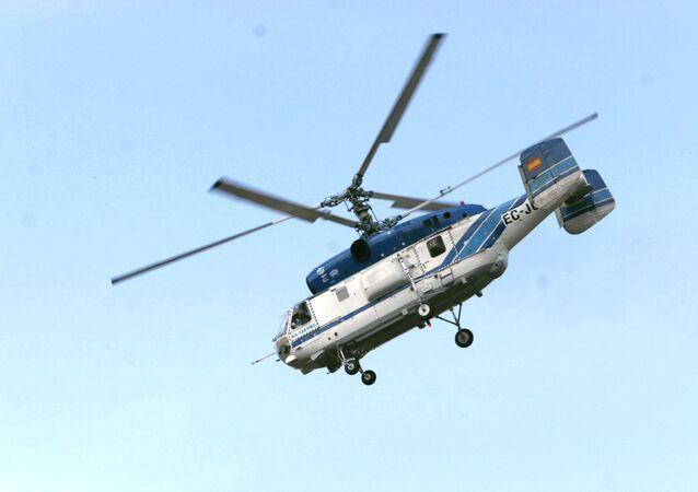 El helicóptero Ka-32