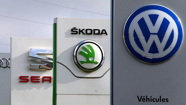 Logos de Volkswagen, Skoda, Audi, Seat - Sputnik Mundo