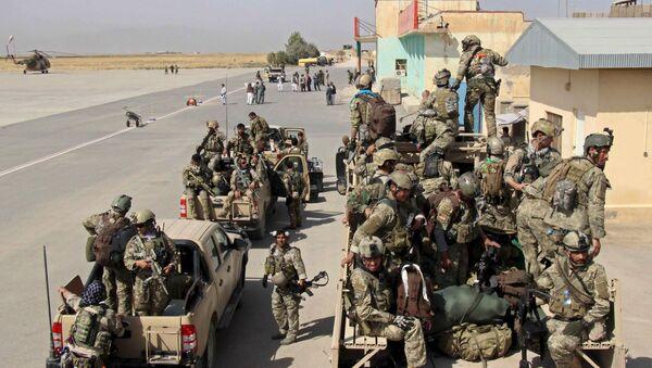 Militares afganos - Sputnik Mundo