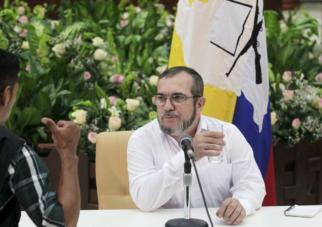 Rodrigo Londoño Echeverry, líder de las FARC