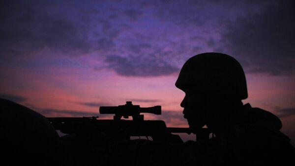 Las tropas de la Misión de la Unión Africana en Somalia - Sputnik Mundo