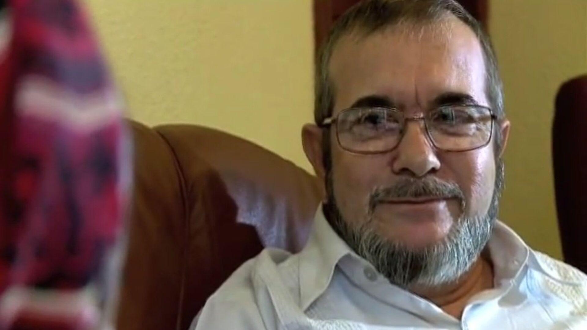 El máximo líder de las FARC, Rodrigo Londoño Echeverri, alias 'Timochenko' - Sputnik Mundo, 1920, 24.03.2021
