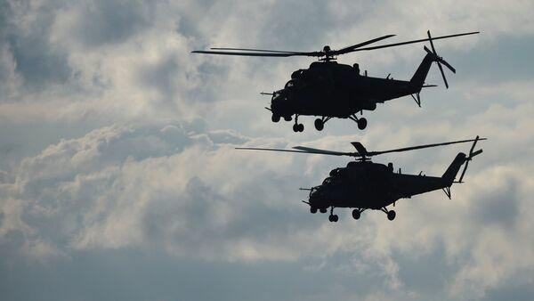 Helicópteros ¡Mi-35 (archvio) - Sputnik Mundo