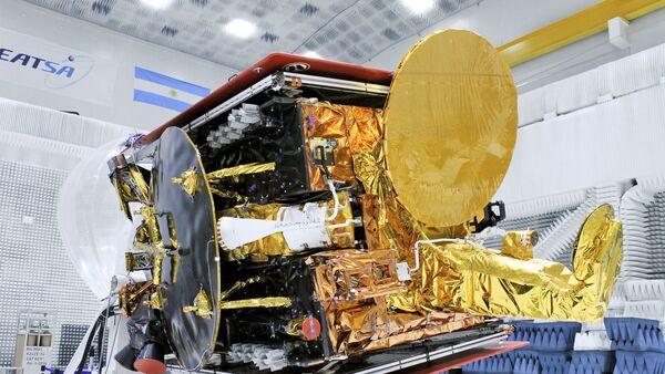 Satélite argentino Arsat 2 - Sputnik Mundo