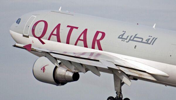 El avión de Qatar Airways - Sputnik Mundo