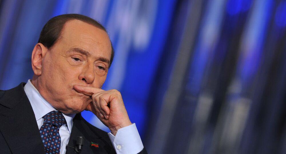 Ex primer ministro de Italia, Silvio Berlusconi