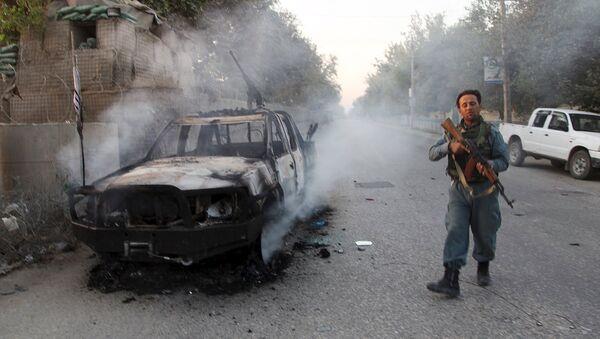 La ciudad afgana de Kunduz, arrebatada a los talibanes - Sputnik Mundo