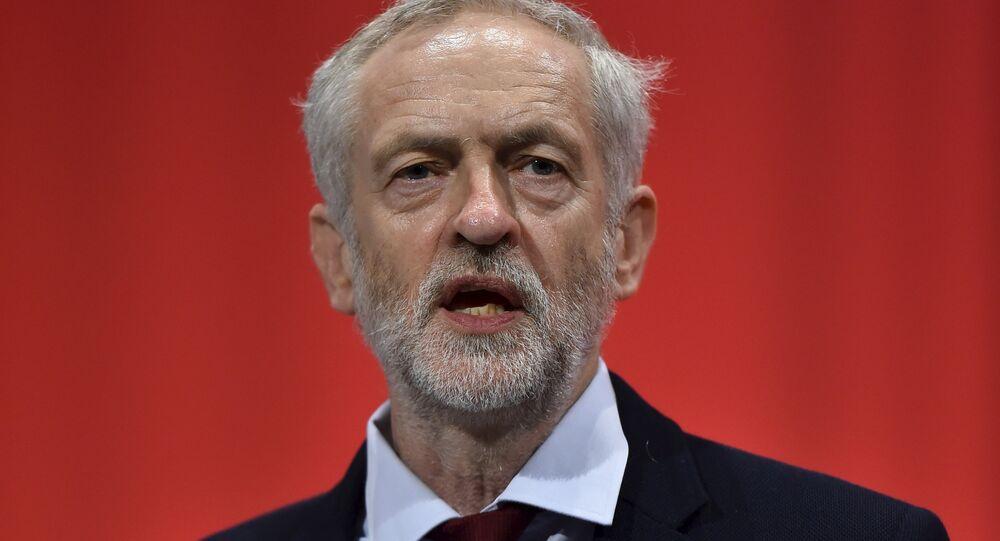 Jeremy Corbyn, líder del Partido Laborista británico (archivo)
