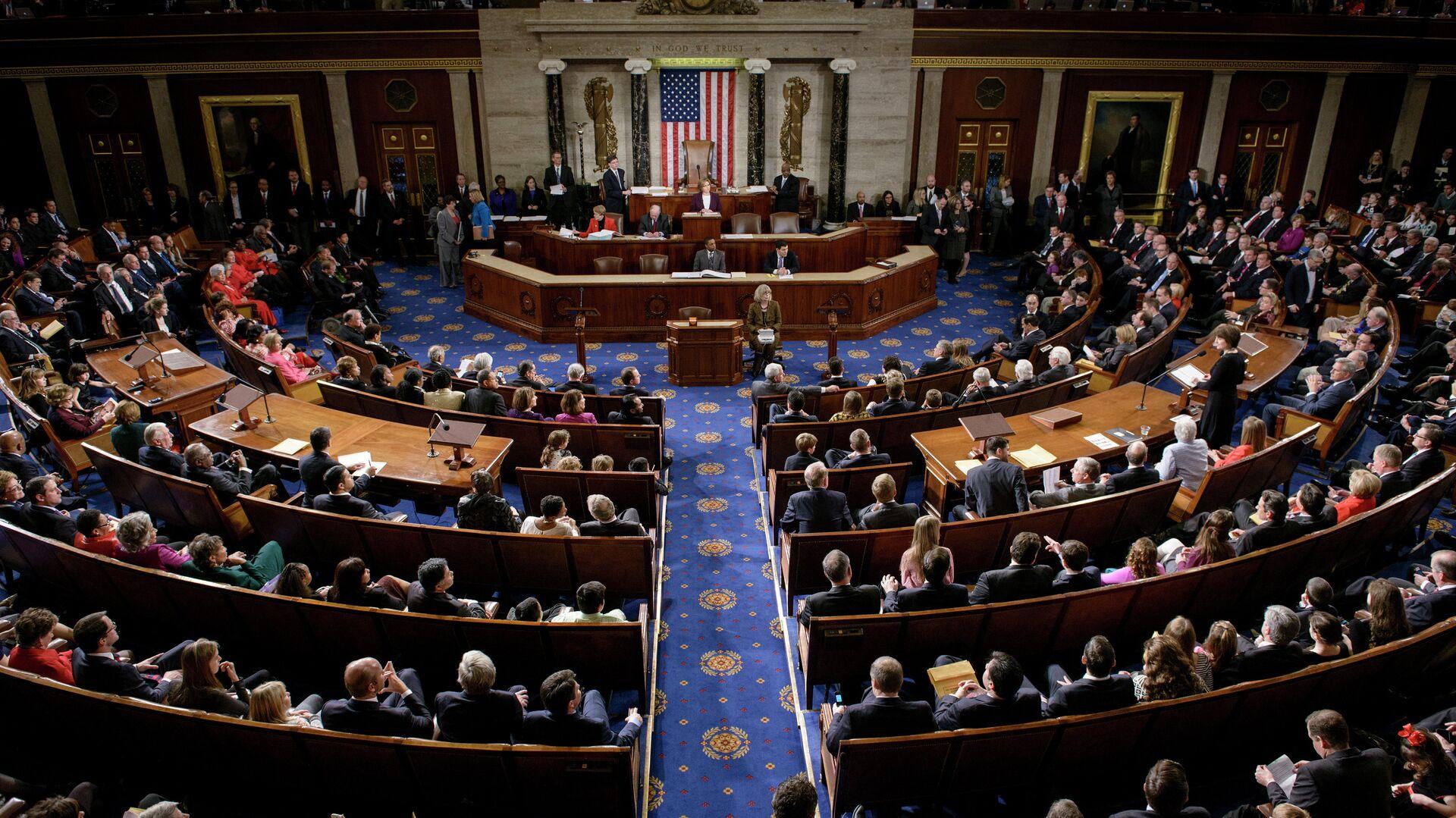 La Cámara de Representantes de Estados Unidos - Sputnik Mundo, 1920, 22.04.2021