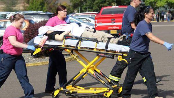 Diez muertos y siete heridos en el tiroteo de Oregon, según policía - Sputnik Mundo