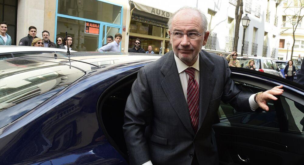 Rodrigo Rato, exgerente del Fondo Monetario Internacional