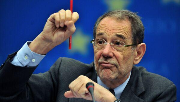Javier Solana, el ex secretario general de la OTAN - Sputnik Mundo