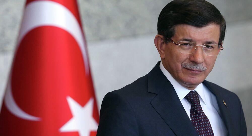 Ahmet Davutoglu, primer ministro turco