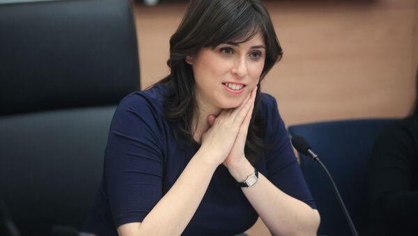 Tzipi Hotovely, viceministra de Exteriores de Israel (Archivo) - Sputnik Mundo