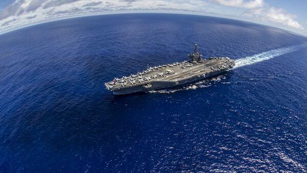 Portaaviones estadounidense USS George Washington - Sputnik Mundo