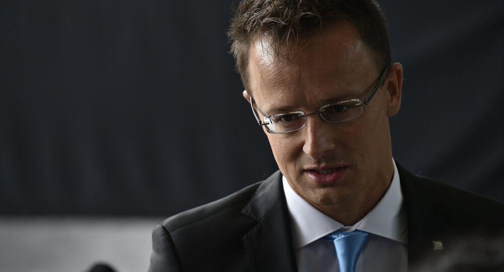 Péter Szijjártó, ministro de Exteriores de Hungría