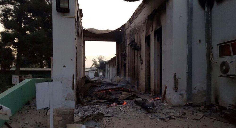 Hospital de Médicos sin Fronteras en Kunduz