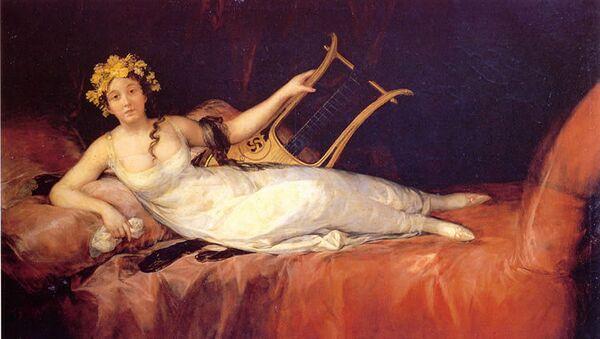 Francisco de Goya y Lucientes. Retrato de la Marquesa de Santa Cruz - Sputnik Mundo