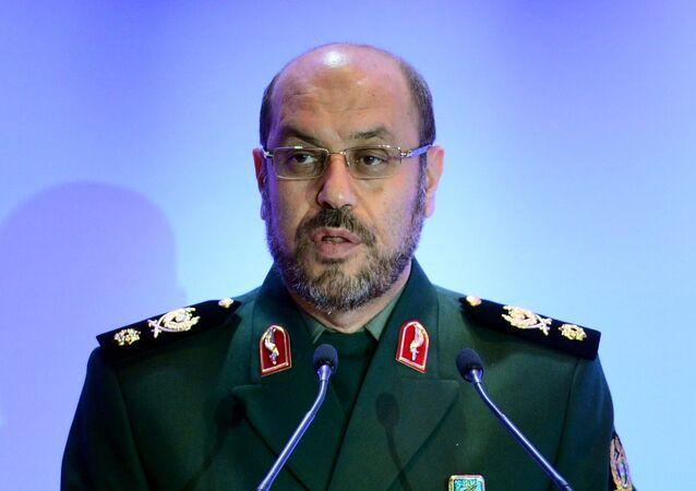 Hosein Dehqán, el ministro de Defensa de Irán