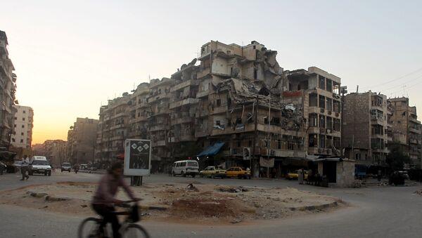 Ciudad de Aleppo, Siria - Sputnik Mundo