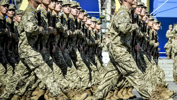 Soldados de las Fuerzas Armadas de Ucrania - Sputnik Mundo