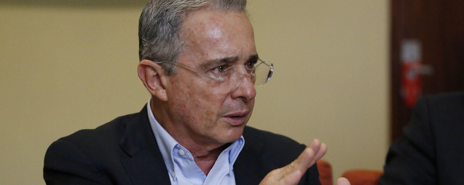 Álvaro Uribe Vélez, expresidente de Colombia - Sputnik Mundo, 1920, 05.05.2021