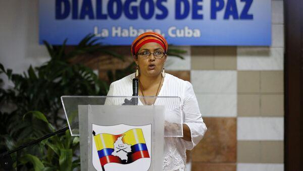 Judith Simanca, alias Victoria Sandino, portavoz de las FARC - Sputnik Mundo