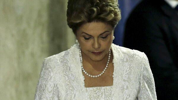 Dilma Rousseff, presidenta de la República de Brasil - Sputnik Mundo