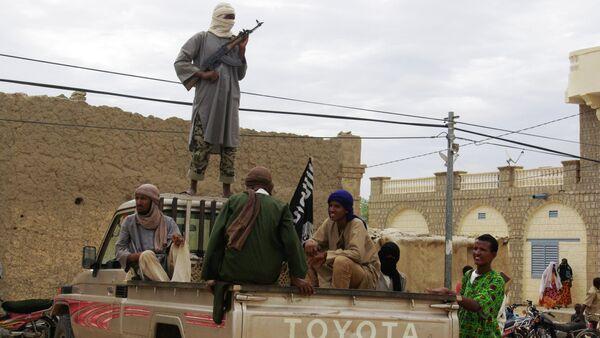 Fighters from Islamist group - Sputnik Mundo