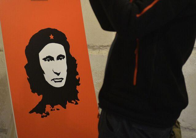 La exposición 'Putin Universe' arranca en Moscú y Londres
