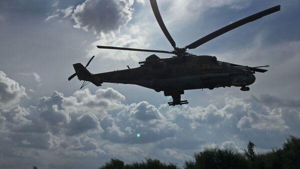 Helicóptero Mi-24 ruso en Siria (archivo) - Sputnik Mundo