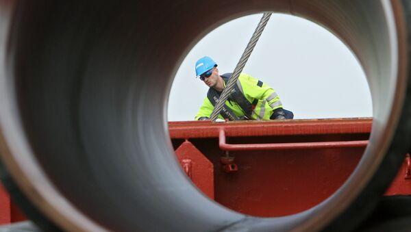 Construcción de gasoducto - Sputnik Mundo