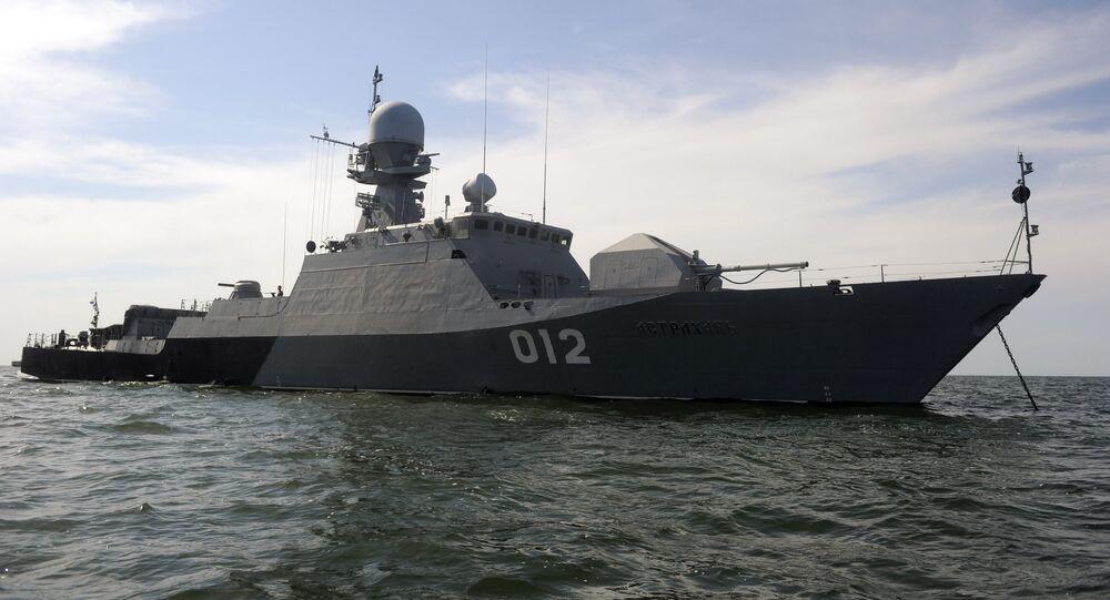 Buque de Flotilla del Caspio