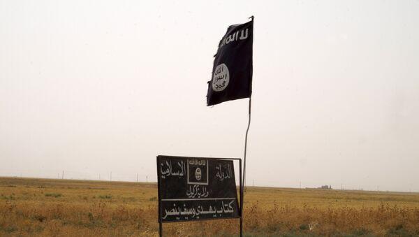 Bandera de Estado Islámico - Sputnik Mundo